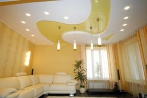 Характеристики подвесных потолков